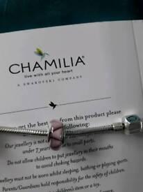 Chamilia murano glass bead charm