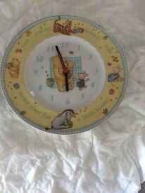 Royal Doulton - Winnie The Pooh Wall Clock