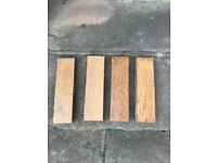 Oak Herring Bone Flooring Blocks (Very well used) for sale  Woodthorpe, Nottinghamshire