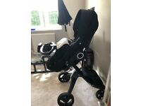 STOKKE Xplory V5 Limited BLACK EDITION with lots of extras