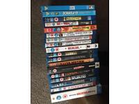 Blu ray films x 20 movies