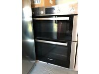 Bosch Double Oven With Fan And Grill