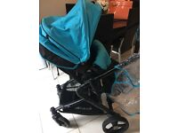 Sky blue hauck pram £60 bargain needs to go