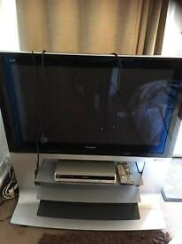"42"" viera Panasonic TV with stand for sale"
