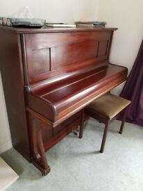 Upright Piano, full size - offers welcome