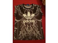 Womens Adidas T-shirt Size 14