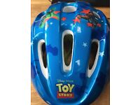 Kid's Toy Story Bike Helmet - very good condition
