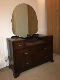 Beautiful vintage dresser with mirror