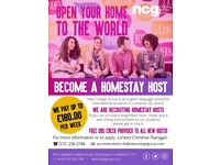 Hosts for international students wanted