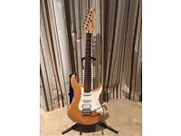 Yamaha Pacifica guitar and practice amp