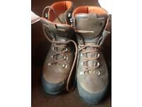 North Face leather hiking boots size 12
