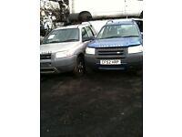 landrover freelander x 2 petrol and diesel