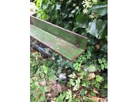 Large steel angle 6 inch x4 inch x 11ft Heavy