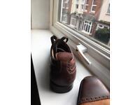 Italian Harris handmade men shoes 8.5 size UK