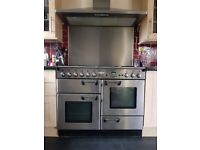 Rangemaster professional double gas oven