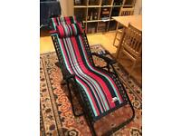 Reclining Patio Chair - never used