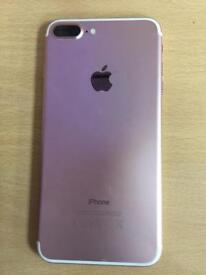 iPhone 7 Plus rose Gold 32gb unlocked to all networks mint condition