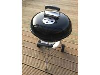 Weber Compact Charcoal Barbecue BBQ + Extras