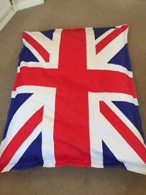 Union Jack bean bag - great Christmas present