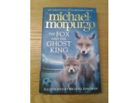 """NEW """"The Fox and the Ghost King"""" by children's laureate Michael Morpurgo. Collect from Wargrave."""