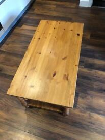 4ft Wooden Coffee table