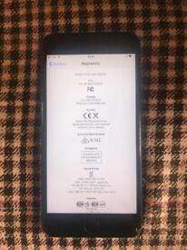 Apple iPhone 7 Plus Unlocked Matt Black still under warranty