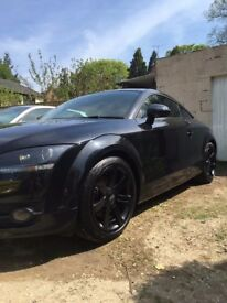 Audi TT 2.0 TFSI - Black, Black Alloys, Black Leather, Black Taillights, Tinted Windows 3dr