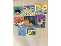 8 various Children's Books Age from 3 years.