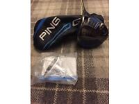 Excellent condition Ping G driver , SF -TEC 10 degree Stiff tour 65 shaft