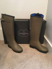 Le chameau Woman's wellies size 4 brand new