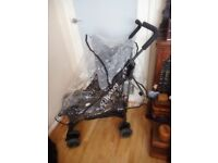 obaby stroller with rain cover