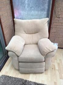 Comfy used arm chair