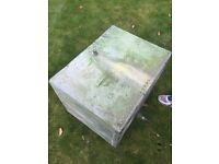 Antique Galvanised Steel Water Tank