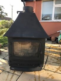 Villager woodburner/multi fuel stove