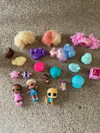 LoL Bigger Surprise Doll Agent Baby Pet Lil Accessories Bundle MGA Family