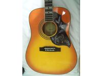 Beautiful Epiphone Hummingbird Pro Acoustic /Electric Guitar