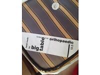 Big table orthopaedic single mattress