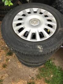 Corsa D wheels 4x100 Vauxhall