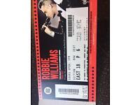 Robbie Williams murrayfield Stadium