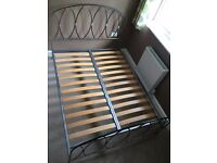 "Standard 4'6"" Double Bed JAY-BE Frame and Mattress"
