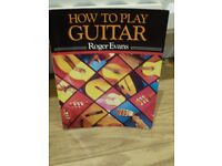 HOW TO PLAY GUITAR BY ROGER EVANS