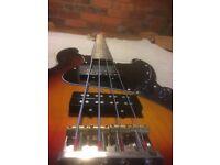 Price Reduction - Superb Fender Modern Player Jazz Bass