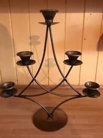 Bronze candle holder