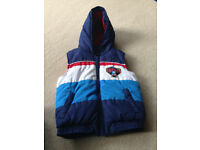 Thomas fleece lined gilet age 3-4
