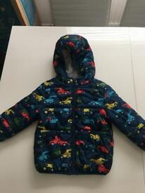 Boys 12-18 months M and S Coat- as new condition