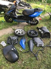 Yamaha aerox 70 spares or repairs