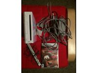 Nintendo Wii Console and Cars Game