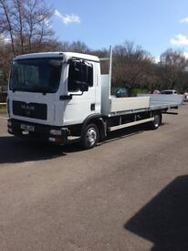 MAN DROPSIDE SCAFFOLD TRUCK NEW CONVERSION