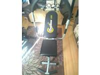 Sit up chair and pull up bar