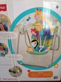 Fisher Price open Take Along Swing - Excellent Condition